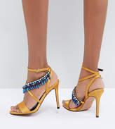 Asos DESIGN Hydro Embellished Heeled Sandals