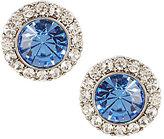 Carolee Something Blue Stud Earrings