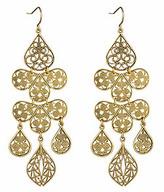 Yochi Gold Chandelier Earrings