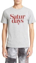Saturdays NYC Men's Saturdays Miller Logo T-Shirt