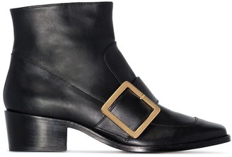 Roker Whickham 35 buckled ankle boots