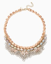 Charming charlie Stella Antiqued Bib Necklace