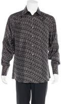 Gucci Horsebit Silk Woven Shirt