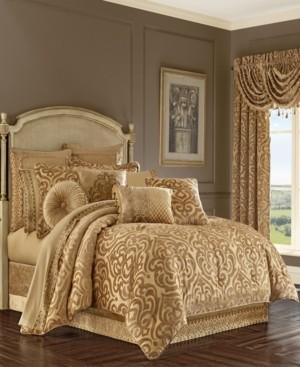 J Queen New York J Queen Sicily Gold King Comforter Set Bedding