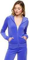 Juicy Couture Outlet - LOGO VELOUR LOVE & GLAM ORIGINAL JACKET
