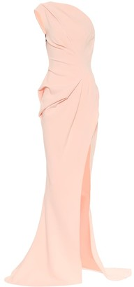 Maticevski Boundless off-shoulder crepe gown