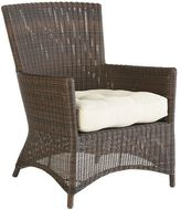 Pier 1 Imports Sloan Deluxe Armchair - Chocolate