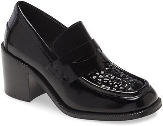 Jeffrey Campbell Sims Block Heel Loafer