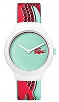 Lacoste 'GOA NEW' Quartz Multi Color Casual Watch (Model: 2020114)