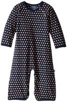 Toobydoo Sweet Hearts Soft Blue Jumpsuit (Infant)