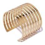 Lizzie Fortunato Gold Line Cuff