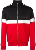 Givenchy colour block zipped sweatshirt