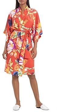 Natori Kira Floral Print Robe