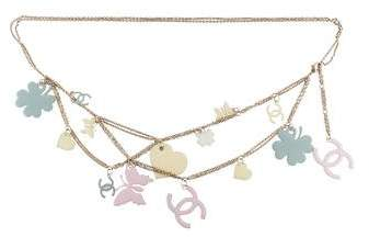 Chanel Lucky Charms Chain Belt