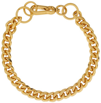 Martine Ali SSENSE Exclusive Gold Cuban Link Choker