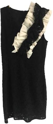 MSGM Black Lace Dresses
