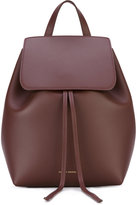 Mansur Gavriel flap backpack - women - Leather - One Size