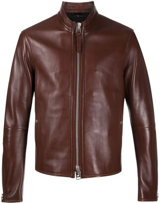 Tom Ford Zip-Up Leather Jacket