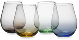 Bed Bath & Beyond Mystic O Stemless White Wine Glasses (Set of 4)