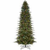 Asstd National Brand 6' Pre-Lit Slim Palisade Artificial Christmas Tree- Multi LED Lights