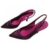 Louis Vuitton Purple Sandals
