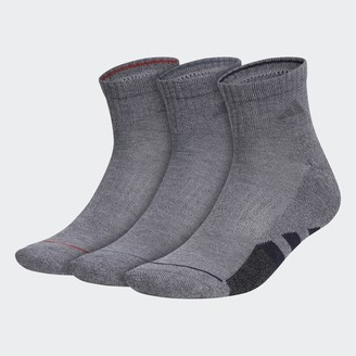 adidas Cushioned 2.0 Color Quarter Socks 3 Pairs