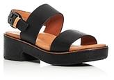 Gentle Souls Talia Platform Slingback Sandals