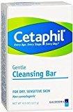 Cetaphil Gentle Cleansing Bar, 4.5oz Per Bar (5 Pack)