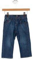 Little Marc Jacobs Girls' Straight-Leg Jeans
