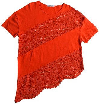 Blumarine Red Lace Top for Women
