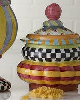Mackenzie Childs MacKenzie-Childs Piccadilly Cookie Jar