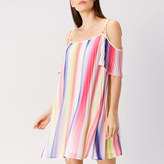 Coast Ivy Printed Stripe Dress
