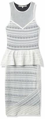 Rachel Roy Women's Fitted Lace Peplum Dress