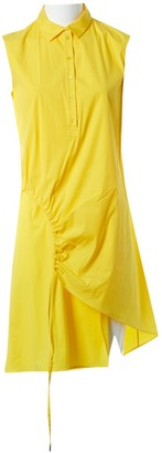 Christian Dior Gold Cotton - elasthane Dresses