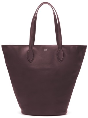 KHAITE Osa Medium leather tote