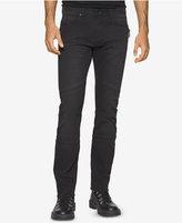 Calvin Klein Jeans Men's Slim-Fit Sateen Moto Jeans