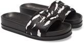 AllSaints Sophie Genuine Calf Hair Slide Sandal