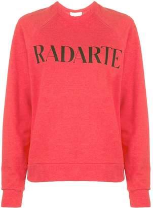 Rodarte printed logo sweater