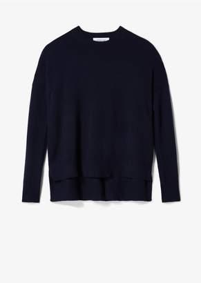 Derek Lam 10 Crosby Mullholland Cashmere Crew Neck Sweater