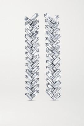 Anita Ko 18-karat White Gold Diamond Earrings - one size
