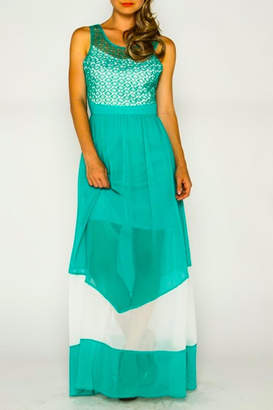 Marineblu Two Tone Maxi
