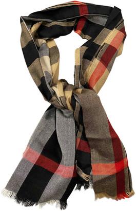 Burberry Multicolour Silk Scarves