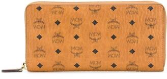 MCM Klassik zip monogram-print wallet