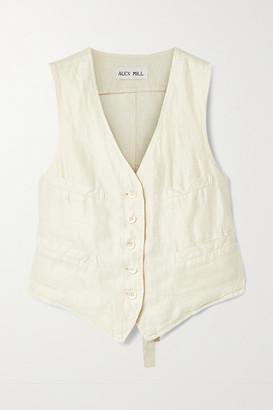 Alex Mill Boy Linen-twill Vest