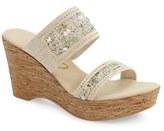 Onex Women's 'Maryann' Slide Wedge Sandal