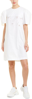 Isabel Marant Etoile Open Embroidery Mini Dress