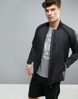 Jack & Jones Tech Bomber Jacket With Padding