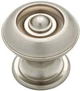 Martha Stewart Living P20631c-475-cp Button Bedford Nickel 1-1/8 Cabinet Knob