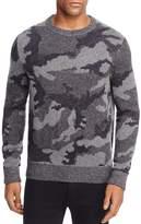 BOSS ORANGE Armieto Camouflage Print Crewneck Sweater