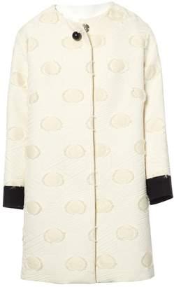Grazia Maria Severi Ecru Coat for Women